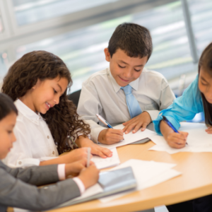 Engineering Your Future Today - Young Kids In A Business Meeting